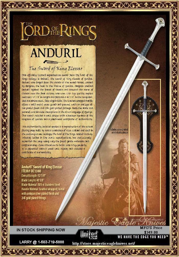 UC1380ASNB The AndurilSword