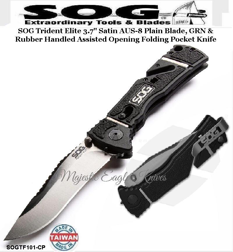 SOG Cutlery SOGTF101-CP SOG Trident Elite 3 7